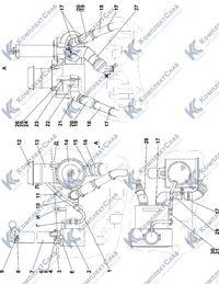 2502-05-3СП Установка систем воздухоочистки и выпуска 1.2