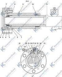 1101-21-43-01СП Механизм натяжения 3.10