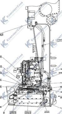 1506-60-1СП Система охлаждения 1.8