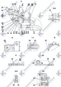 1101-16-2-03СП Установка трансмиссии 4.2
