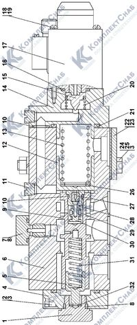 1101-15-27СП Клапан-модулятор 4.24