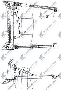012001-93-5СП Оборудование бульдозерное полусферическое 112
