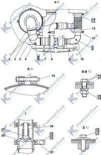 1106-05-5СП Установка систем воздухоочистки и выпуска 1.4
