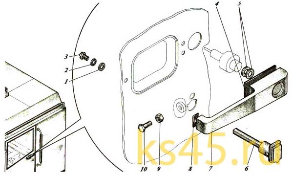 Дверь ТМ-120-57-сб465-01
