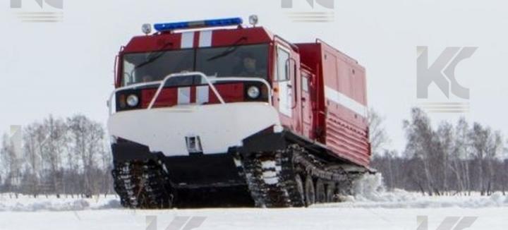 Машина рукавная на базе гусеничного вездехода ТМ-140
