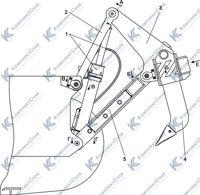 011101-97-2-02СП Оборудование рыхлительное 7.8