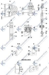 2502-60-2СП Система охлаждения двигателя и трансмиссии 1.9