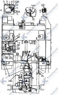 3506-10-13-01СП Установка электрооборудования на раме 7