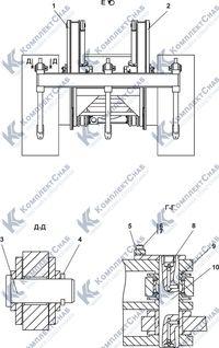 011101-97-2-02СП Оборудование рыхлительное 7.10