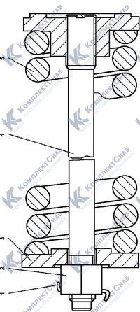 1101-21-16СП Механизм сдавания 3.6