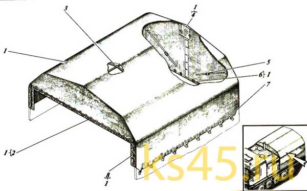Тент ТМ120-51-сб8