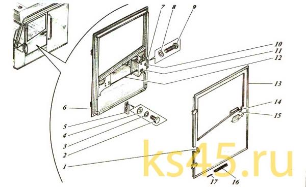 Дверь ТМ-120-57-сб465; ТМ 120-57-сб 465-01 (2)