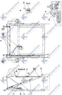 0902-10-13СП Электрооборудование передней облицовки 2.7