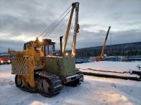 Более 5000 км на тралах и барже: к Чаядинскому месторождению доставлены трубоукладчики ЧЕТРА ТГ122