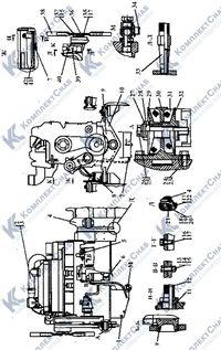 3506-01-1СП Установка двигателя Cummins 1
