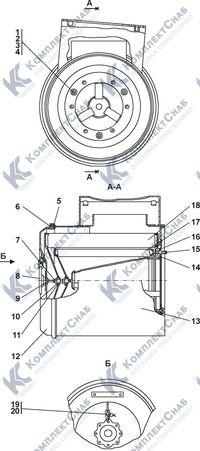 1502-05-12СП Воздухоочиститель 1.4
