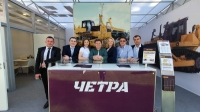 Мощный бульдозер и надежные запчасти на выставке «Уголь и Майнинг России»