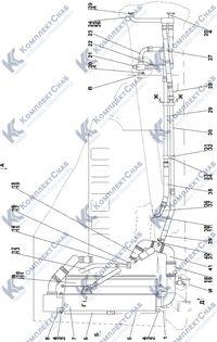 2502-60-2СП Система охлаждения двигателя и трансмиссии 1.7