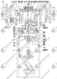 1101-16-2-03СП Установка трансмиссии 4.1