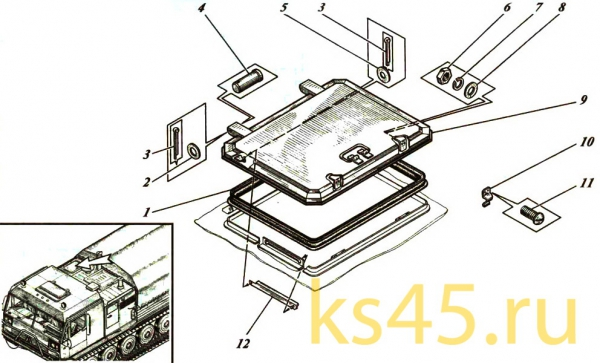 Корпус ТМ120-50-сб1 (установка люка)