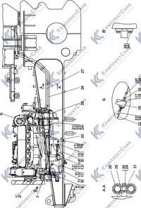 1522-43-1СП Установка системы подогрева 1.8