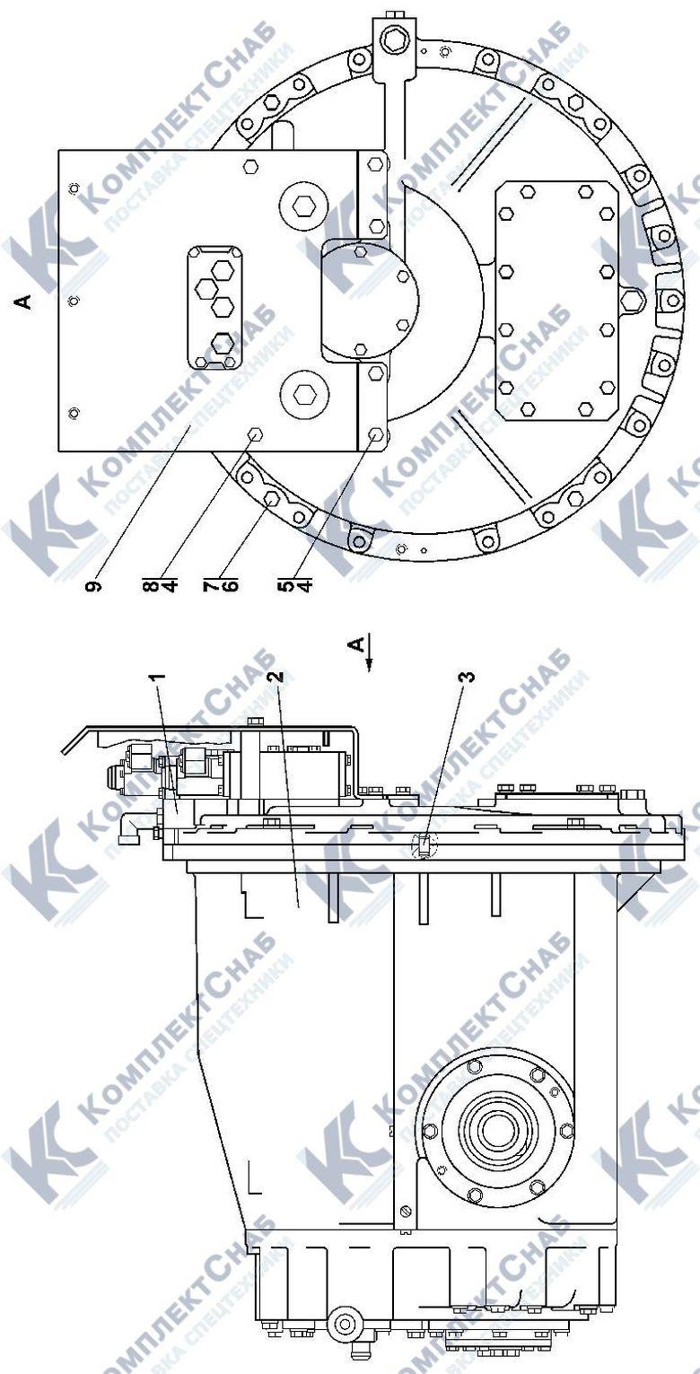 0901-12-14СП Блок трансмиссии 4.6