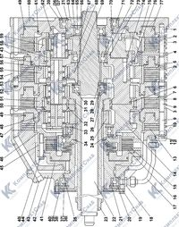0901-12-10СП Коробка передач 4.3