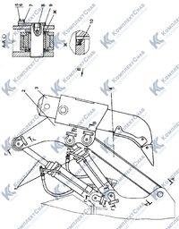 012001-97-1СП Оборудование рыхлительное 120