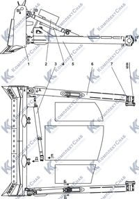 011101-93-3СП Оборудование бульдозерное полусферическое 7.1