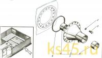 Корпус ТМ120-50-сб1 (установка кронштейна)