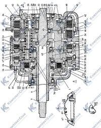 2501-12-20СП Коробка передач планетарная 27