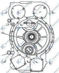 2501-20-11-02СП Редуктор привода насосов 36