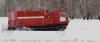 Пожарная порошковая машина на базе гусеничного вездехода ТМ-140