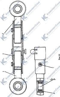 011501-93-180СП Раскос винтовой 116