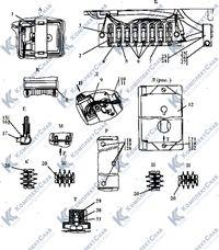 3501-10-14-01СП Электрооборудование крыши кабины 9
