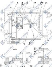 0901-96-1СП Агрегат тяговый 7.19
