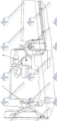 313516-25-1СП Установка топливного бака 1.8