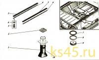 Корпус ТМ120-50-сб1 (установка прокладок и пробки)