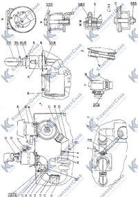 2506-05-2СП Установка систем воздухоочистки и выпуска 2