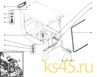 Кабина533-9-62-81-010-1К; 533Н-81-сб1