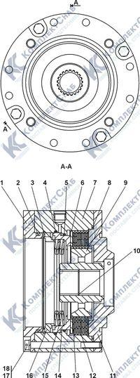 0901-96-100СП Тормоз 7.23