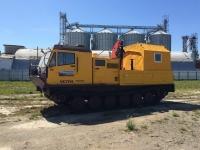 вездеход ЧЕТРА ТМ140 с КМУ Palfinger 12000 и модулем-мастерской