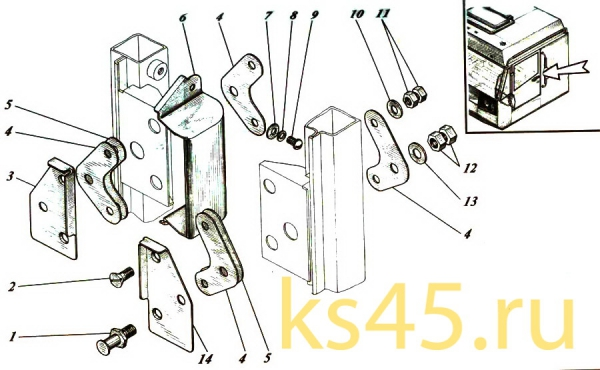Кабина TM 120-57-сб301(4)