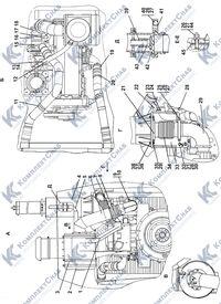 313516-05-1СП Установка систем воздухоочистки и выпуска 1.4