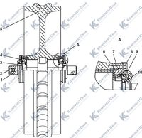1101-21-41СП Колесо натяжное 3.9