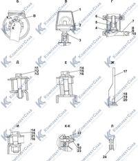 2502-05-3СП Установка систем воздухоочистки и выпуска 1.3