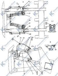 012001-97-501СП Гидросистема рыхлительного оборудования 123