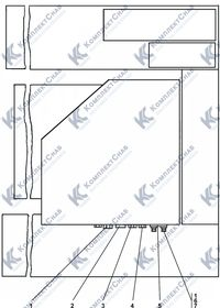 Установка системы вентиляции и отопления кабины 6.7
