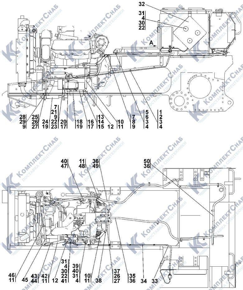 1102-43-3СП Установка системы подогрева 1.4