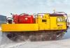 Гусеничная транспортная машина ТМ140 с агрегатом для сбора нефти